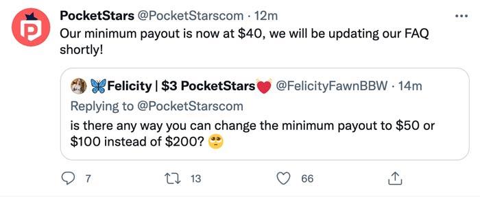 PockeStars Twitter