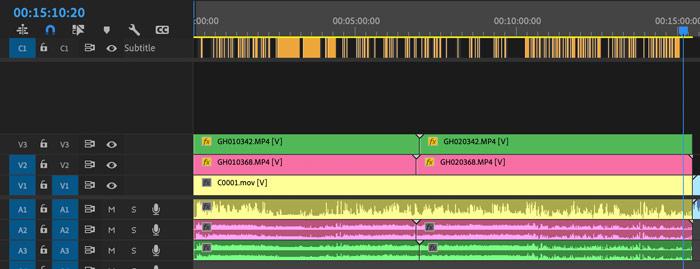 Porn Editing Timeline